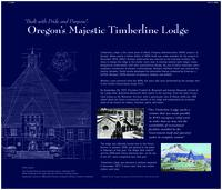 """Built with pride and purpose"": Oregon's majestic Timberline Lodge, Oregon's..."
