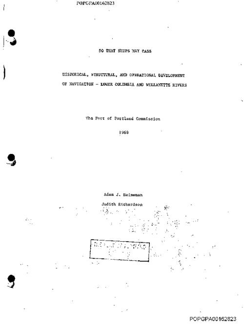 This archived document is maintained by the Oregon State Library as part of the Oregon Documents Depository Program.  It is for informational purposes and may not be suitable for legal purposes., Photocopy, Includes bibliographical references (leaves 110-112), Mode of access: Internet from the Oregon Government Publications Collection.