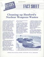 Cleaning up Hanford's nuclear weapons wastes