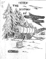 The  history of Happy Valley, History of Happy Valley, Oregon, 1851-1969