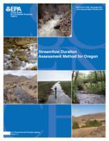 Streamflow duration assessment method for Oregon