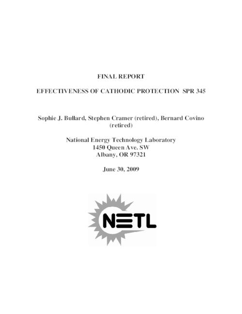 "The report provides a summary of Oregon's experience with cathodic protection of coastal reinforced concrete bridges., This archived document is maintained by the Oregon State Library as part of the Oregon Documents Depository Program.  It is for informational purposes and may not be suitable for legal purposes., Cover title., ""June 30, 2009."", Includes bibliographical references (pages 22-23)., Performed for Oregon Dept. of Transportation under contract no. SPR 345., Mode of access: Internet from the Oregon Government Publications Collection., Final report."