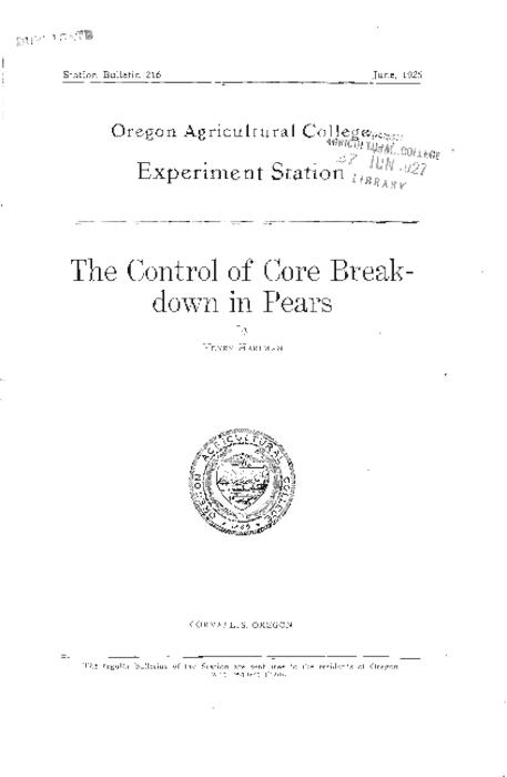 This archived document is maintained by the Oregon State Library as part of the Oregon Documents Depository Program.  It is for informational purposes and may not be suitable for legal purposes., Cover title., Includes bibliographical references (page 16)., Mode of access: Internet from the Oregon Government Publications Collection.