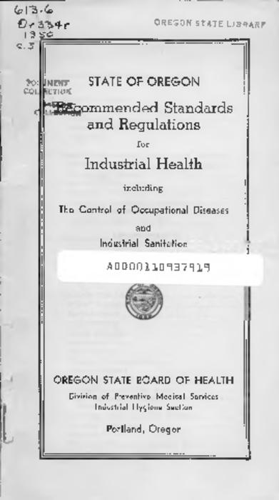 "This archived document is maintained by the Oregon State Library as part of the Oregon Documents Depository Program.  It is for informational purposes and may not be suitable for legal purposes., ""November 1, 1949""--P. 6, Mode of access: Internet from the Oregon Government Publications Collection."