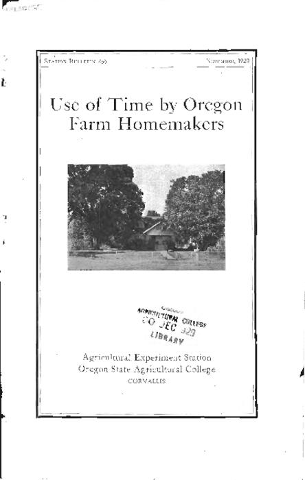 This archived document is maintained by the Oregon State Library as part of the Oregon Documents Depository Program.  It is for informational purposes and may not be suitable for legal purposes., Cover title., Mode of access: Internet from the Oregon Government Publications Collection.