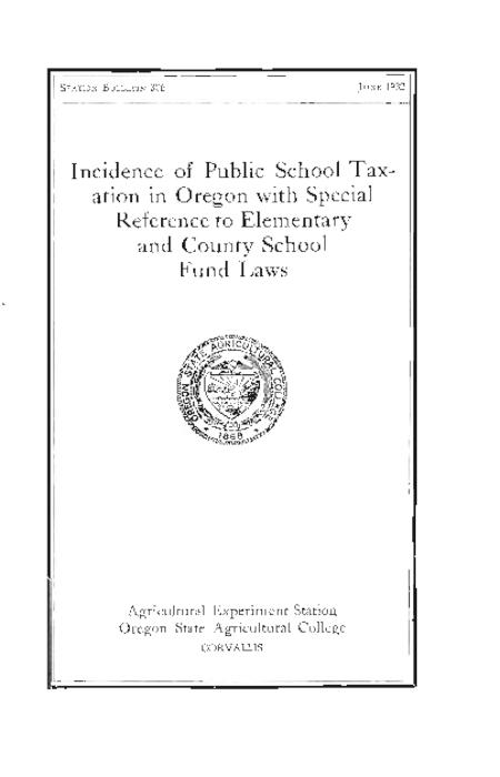 This archived document is maintained by the Oregon State Library as part of the Oregon Documents Depository Program.  It is for informational purposes and may not be suitable for legal purposes., Caption title., Includes bibliographical references., Mode of access: Internet from the Oregon Government Publications Collection.
