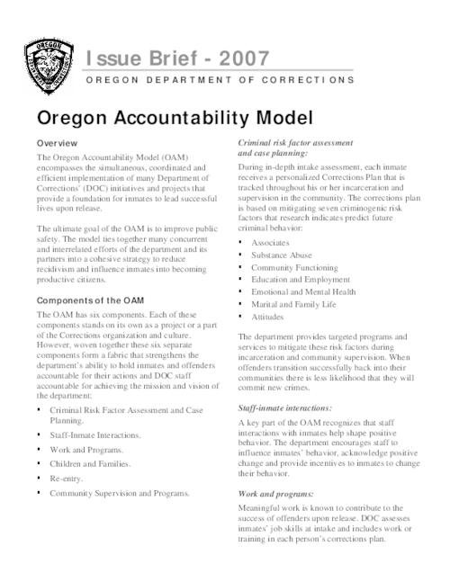 "This archived document is maintained by the Oregon State Library as part of the Oregon Documents Depository Program.  It is for informational purposes and may not be suitable for legal purposes., Title from PDF caption (viewed on Feb. 17, 2009), ""7/31/07""--P. [2], Mode of access: Internet from the Oregon Government Publications Collection."