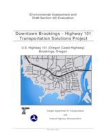 Downtown Brookings - Highway 101 Transportation Solutions Project: U.S. Highway...