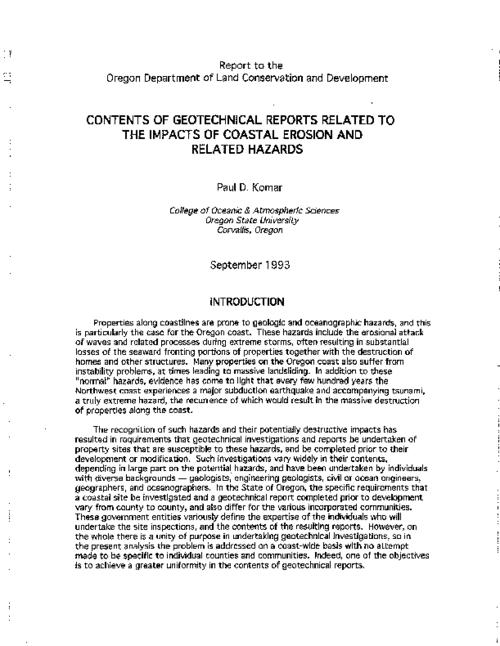 "This archived document is maintained by the Oregon State Library as part of the Oregon Documents Depository Program.  It is for informational purposes and may not be suitable for legal purposes., Title from PDF caption (viewed on Sept. 4, 2009), ""September 1993."", Includes bibliographical references, Mode of access: Internet from the Oregon Government Publications Collection."