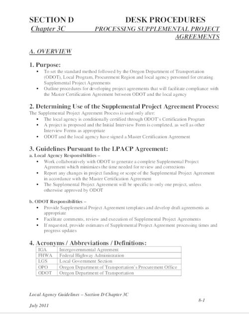 Local agency guidelines chapter 19c desk procedures processing download pdf platinumwayz