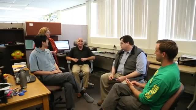 Oregon Commission for the Blind: expanding opportunties for Oregonians with...