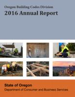 ... annual report, Building Codes Division ... annual report