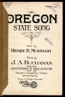 Oregon state song, Oregon, my Oregon