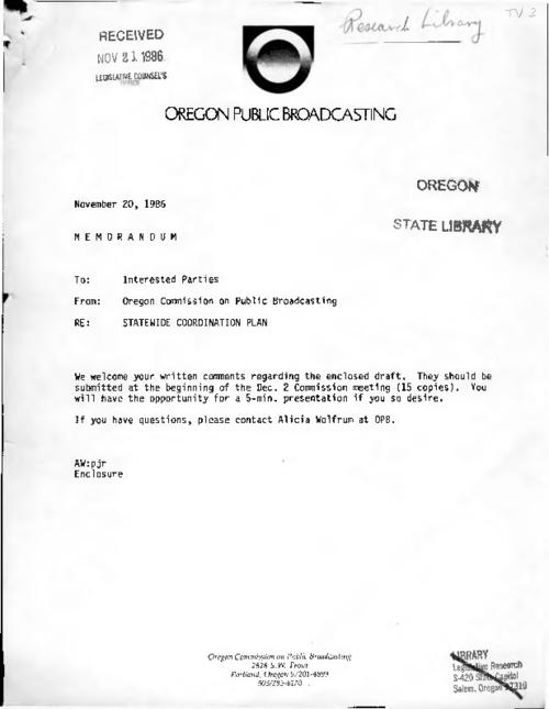 This archived document is maintained by the Oregon State Library as part of the Oregon Documents Depository Program.  It is for informational purposes and may not be suitable for legal purposes., Title from PDF title page (viewed on June 7, 2016)., Mode of access: Internet from the Oregon Government Publications Collection., Text in English.