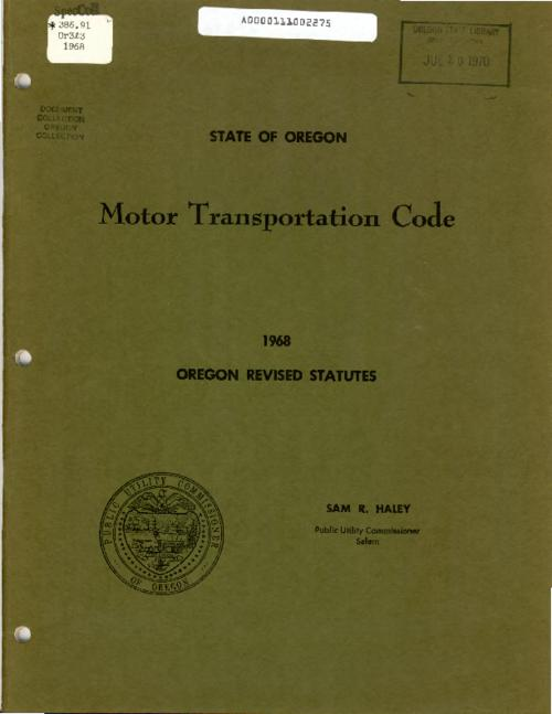 This archived document is maintained by the Oregon State Library as part of the Oregon Documents Depository Program.  It is for informational purposes and may not be suitable for legal purposes., Title from PDF cover (viewed on June 9, 2016)., Mode of access: Internet from the Oregon Government Publications Collection., Text in English.