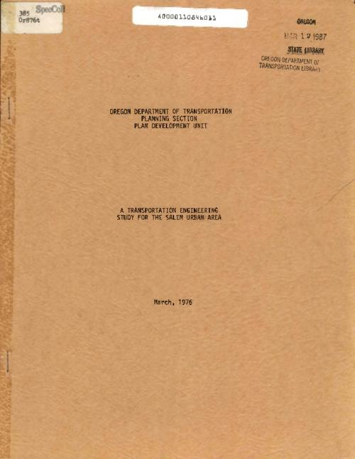 This archived document is maintained by the Oregon State Library as part of the Oregon Documents Depository Program.  It is for informational purposes and may not be suitable for legal purposes., Title from PDF cover (viewed on July 1, 2016)., Mode of access: Internet from the Oregon Government Publications Collection., Text in English.