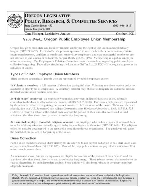 This archived document is maintained by the Oregon State Library as part of the Oregon Documents Depository Program.  It is for informational purposes and may not be suitable for legal purposes., Title from PDF caption (viewed on December 19, 2014), Mode of access: Internet from the Oregon Government Publications Collection., Text in English