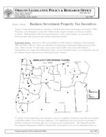 Business investment property tax incentives, Basics about ... business investment...