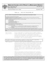 Ballot measure #35, Basics on ... ballot measure #35