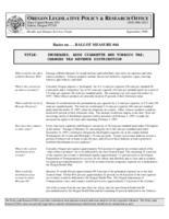 Ballot measure #44, Basics on ... ballot measure #44