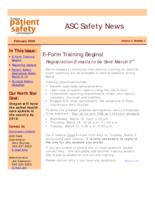 ASC safety news, Ambulatory Surgery Centers safety news