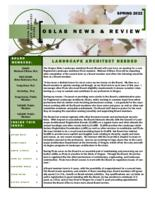 OSLAB review, Oregon State Landscape Architect Board review, Review, OSLAB news...