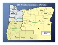 OSP area commands and worksites, Oregon State Police area commands and worksites...
