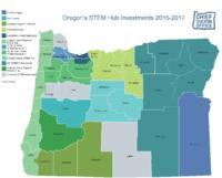 Oregon's STEM hub investments, Oregon's science technology engineering and mathematics...