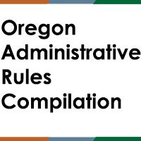 Oregon administrative rules compilation