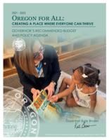 ... turning point, an agenda for Oregon's future : Governor's recommended budget...