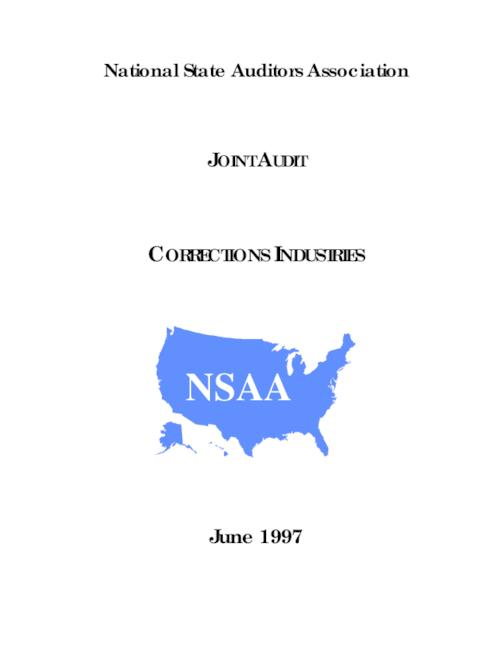 "This archived document is maintained by the Oregon State Library as part of the Oregon Documents Depository Program.  It is for informational purposes and may not be suitable for legal purposes., ""June 1997."", ""No. 97-60."", At head of title: National State Auditors Association, Mode of access: Internet from the Oregon Government Publications Collection."