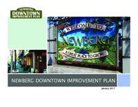 Newberg downtown improvement plan