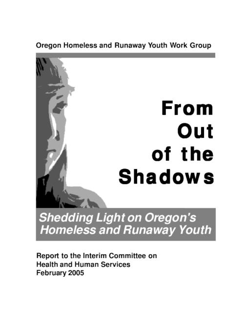 "This archived document is maintained by the Oregon State Library as part of the Oregon Documents Depository Program.  It is for informational purposes and may not be suitable for legal purposes., Title from PDF title page (viewed on July 20, 2009), ""February 2005."", Includes bibliographical references (p. 45), Mode of access: Internet from the Oregon Government Publications Collection."