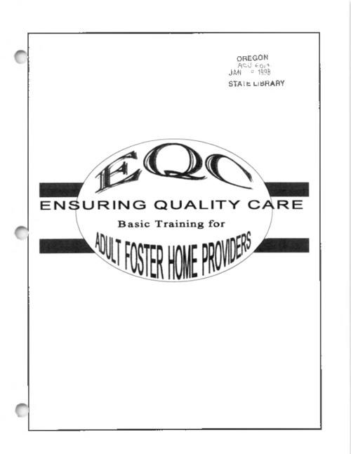 "At head of title: EQC., ""October 1997."", "" ... 4th printing, December 1998."", This archived document is maintained by the State Library of Oregon as part of the Oregon Documents Depository Program. It is for informational purposes and may not be suitable for legal purposes., Includes bibliographical references., Mode of access: Internet from the Oregon Government Publications Collection., Text in English."