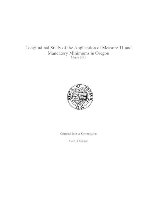 "This archived document is maintained by the Oregon State Library as part of the Oregon Documents Depository Program.  It is for informational purposes and may not be suitable for legal purposes., Title from PDF caption (viewed on Apr. 1, 2011), ""March 2011."", Mode of access: Internet from the Oregon Government Publications Collection."