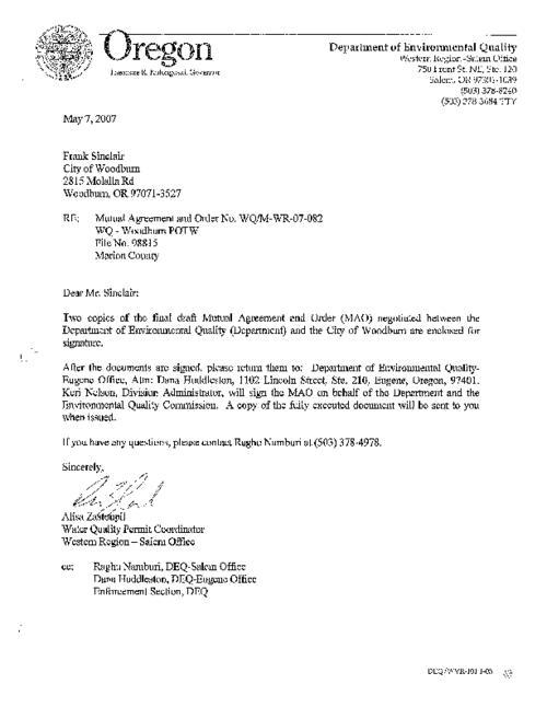 Wastewater facilities plan appendix b mutual agreement order no download pdf platinumwayz