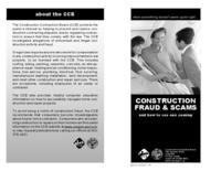 Construction fraud & scams and how to see one coming