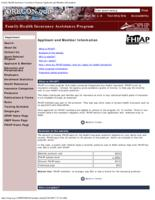 Applicant and member information, Family Health Insurance Assistance Program:...