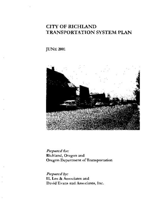 Title from PDF title page (viewed on February 26, 2019)., This archived document is maintained by the State Library of Oregon as part of the Oregon Documents Depository Program. It is for informational purposes and may not be suitable for legal purposes., Funded by a grant from the Transportation and Growth Management Program., Mode of access: Internet from the Oregon Government Publications Collection., Text in English.