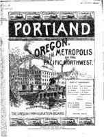 Portland, Oregon, the metropolis of the Pacific Northwest, City of Portland,...