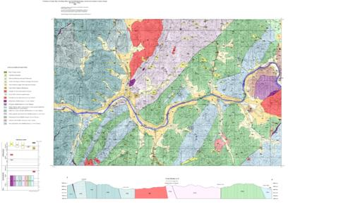 Gold In Oregon Map.Preliminary Geologic Map Of The Rogue River And Gold Hill