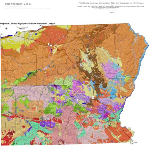 Oregon statewide geologic map data a pilot project where digital download pdf gumiabroncs Choice Image