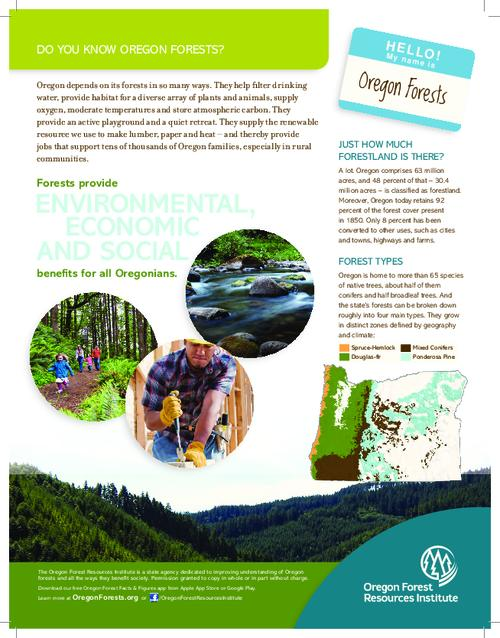 Do You Know Oregon Forests?