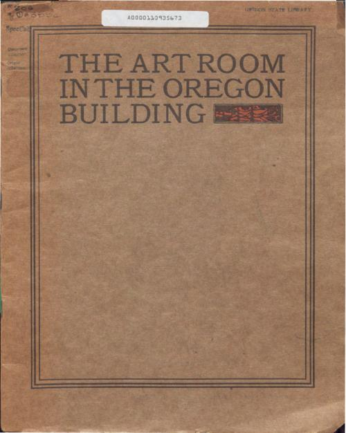 Title from PDF title page (viewed on May 17, 2019)., Introduction to the catalog written by Allen H. Eaton, who planned, designed, and installed the Art Room., This archived document is maintained by the State Library of Oregon as part of the Oregon Documents Depository Program. It is for informational purposes and may not be suitable for legal purposes., Mode of access: Internet from the Oregon Government Publications Collection., Text in English.