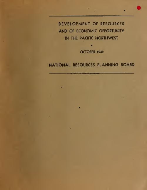 The region (summary of unpublished background report, Migration and the development of economic opportunity in the Pacific Northwest, 1939)--Agricultural land development (including a joint study by the Bureau of agricultural economics and the Pacific Northwest regional planning commission)--Industrial development.--A plan and program for regional development and internal improvement., Report of the Pacific Northwest regional planning commission to the National resources planning board., This archived document is maintained by the Oregon State Library as part of the Oregon Documents Depository Program. It is for informational purposes and may not be suitable for legal purposes., Mode of access: Internet from the Oregon Government Publications Collection., Text in English.