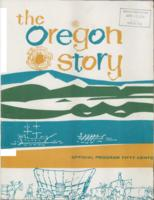 The  Oregon story: official program