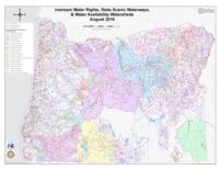 Instream water rights, state scenic waterways, & water availability watersheds...