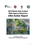 2016 Mosier rail incident state agency response after-action report, Mosier...