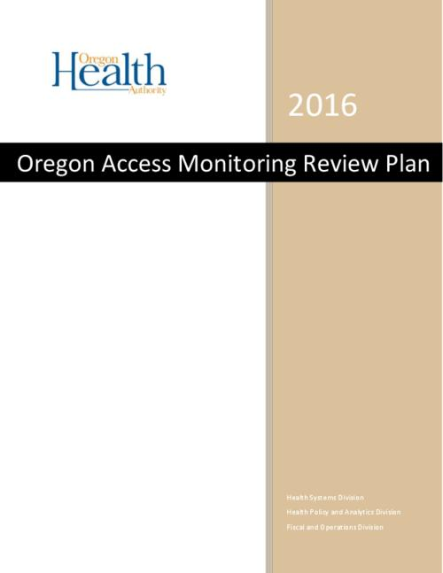 Title from PDF cover (viewed on December 21, 2016)., This archived document is maintained by the Oregon State Library as part of the Oregon Documents Depository Program. It is for informational purposes and may not be suitable for legal purposes., Includes bibliographical references., Mode of access: Internet from the Oregon Government Publications Collection., Text in English.