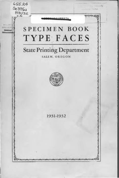 This archived document is maintained by the Oregon State Library as part of the Oregon Documents Depository Program.  It is for informational purposes and may not be suitable for legal purposes., Title from cover, Mode of access: Internet from the Oregon Government Publications Collection.